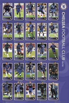 Chelsea - squad profiles 05/06 Poster
