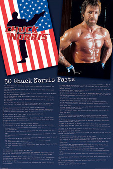 Chuck Norris - Facts Poster
