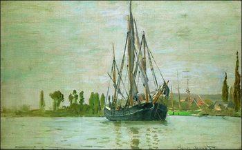 Claude Monet - Chasse-Maree a L Ancre Rouen Art Print