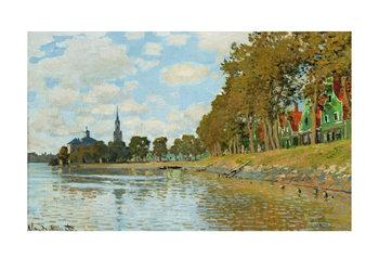 Claude Monet - Zaandam (Hollande) Art Print
