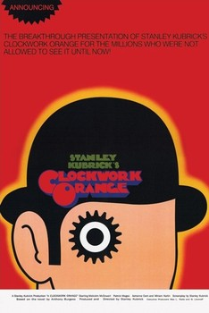 CLOCKWORK ORANGE - one sheet Poster, Art Print