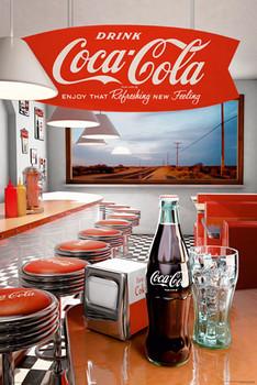 Pôster Coca Cola - diner