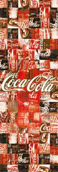 Poster Coca Cola - patchwork