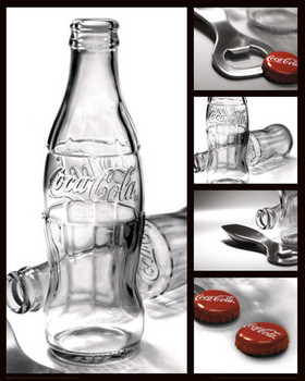 Pôster COCA-COLA - photography