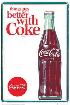 Coca Cola - things go better Poster