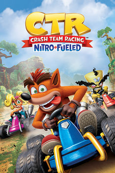 Crash Team Racing - Race Poster