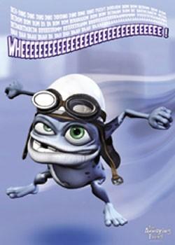 Crazy Frog - Wheeee! Poster