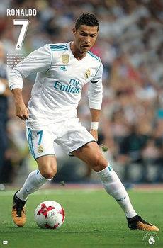 Cristiano Ronaldo - Nr. 7 Real Madrid Season 2017/18 Poster