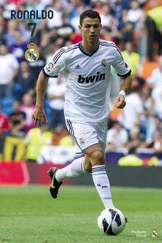 Cristiano Ronaldo - real madrid 12/13 Poster