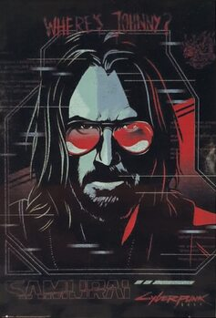 Poster Cyberpunk 2077 - Ghost In The Machine