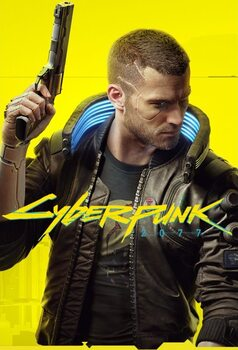 Poster Cyberpunk 2077 - Ready Player V