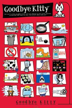 Poster D&G - goodbye kitty