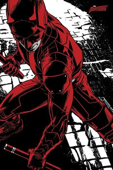Pôster Daredevil TV Series - Fight