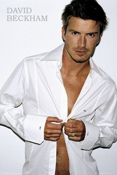 David Beckham - shirt Poster
