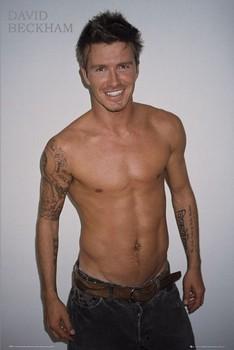 David Beckham - torso Poster
