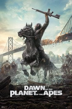 Dawn Of The Planet Of The Apes - Horse Poster