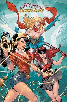 Poster DC Comics Bombshells - Group