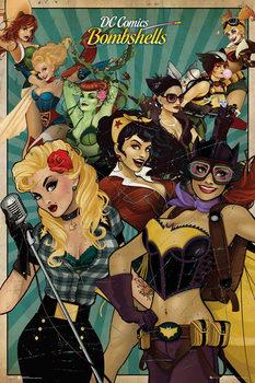 Pôster DC Comics - Bombshells
