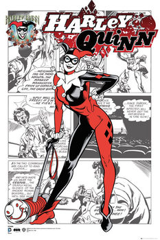 DC Comics - Harley Quinn Comic Poster
