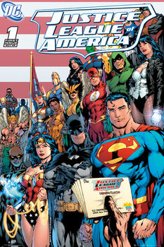 Pôster DC COMICS - justice league cover