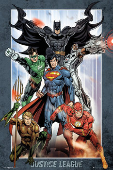 DC Comics - Justice League Group Poster, Art Print