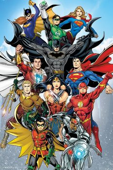 Poster  DC Comics - Rebirth