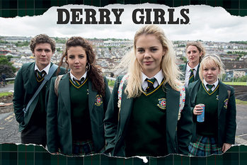 Poster Derry Girls - Rip