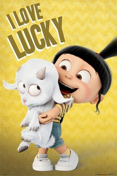 Despciable Me 3- I Love Lucky Poster