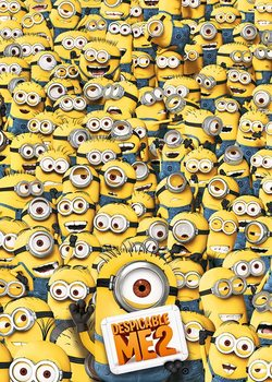 Poster Despicable Me 2 - Many Minions