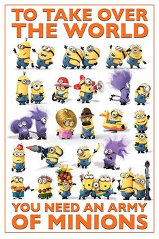 Poster Despicable Me 2 - Take Over the World