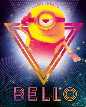 Despicable Me 3 - 80'S Bello Poster