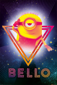 Poster  Despicable Me 3 - 80's Bello