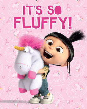 Despicable Me - It's So Fluffy Poster