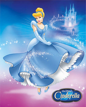Disney - Disney princess Poster, Art Print