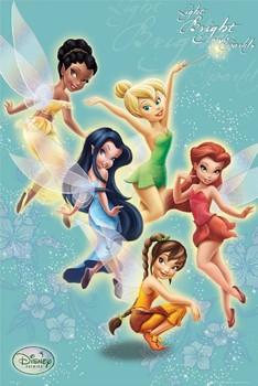 DISNEY FAIRIES - sparkly Poster