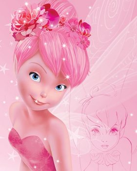 Pôster Disney Fairies - Tink Pink