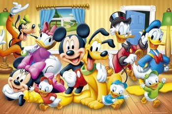 DISNEY - group Poster, Art Print