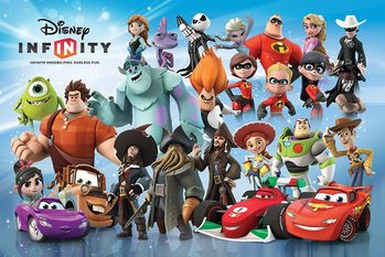 Disney Infinity - Character Montage Poster