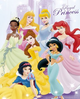 DISNEY PRINCESS 7 Poster