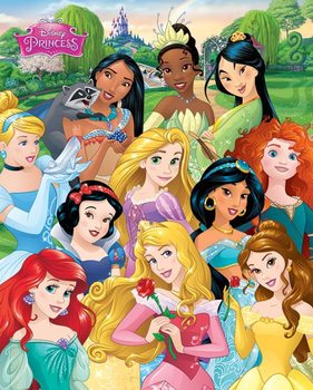 Disney Princess - I am a Princess Poster