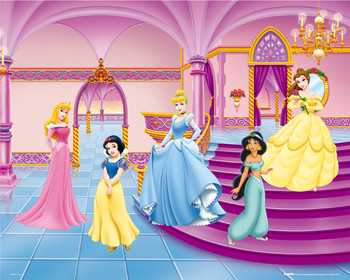 DISNEY PRINCESS - palace Poster