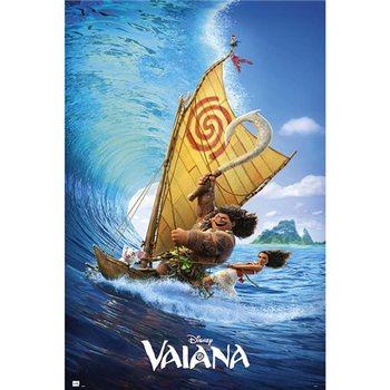 Disney Vaiana Boat Poster