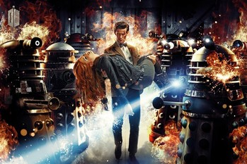 DOCTOR WHO - Doctor and Amy Poster