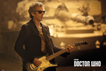 Doctor Who - Guitar Landscape Poster