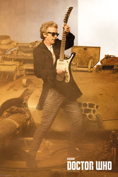 Doctor Who - Guitar Portrait Poster