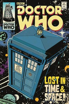 Pôster Doctor Who - Lost in Time & Space