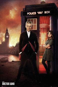 Doctor Who - Series 8 Portrait Poster, Art Print