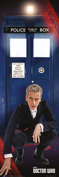 Doctor Who - Tardis and Doctor Poster, Art Print
