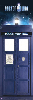 DOCTOR WHO - tardis Poster, Art Print