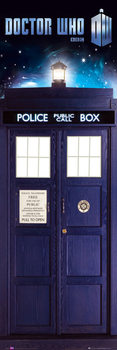 Poster  DOCTOR WHO - tardis